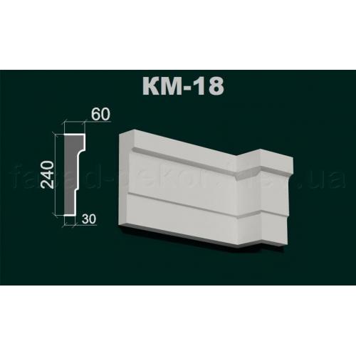 Карниз межэтажный КМ -18
